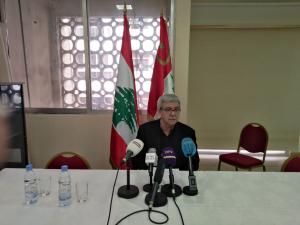 حنا غريب: لا خيار لشعبنا لإنقاذ لبنان من خطر المنظومة الحاكمة، إلّا تحويل الانتفاضة إلى ثورة وطنية ديمقراطية تطيح بهذه المنظومة ونظامها