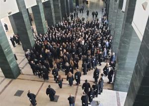 إعلان انتفاضة المحامين الكُبرى